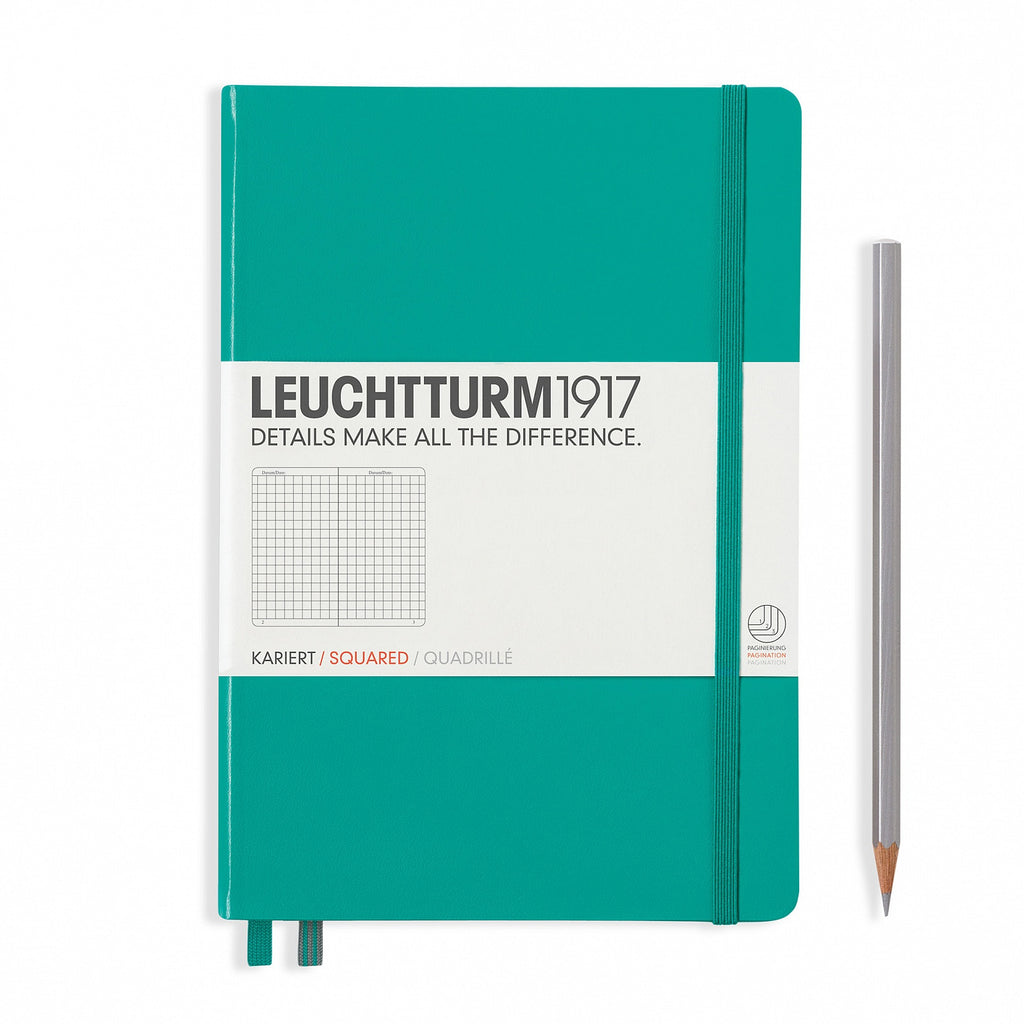 Leuchtturm1917 A5 Notebook - Emerald