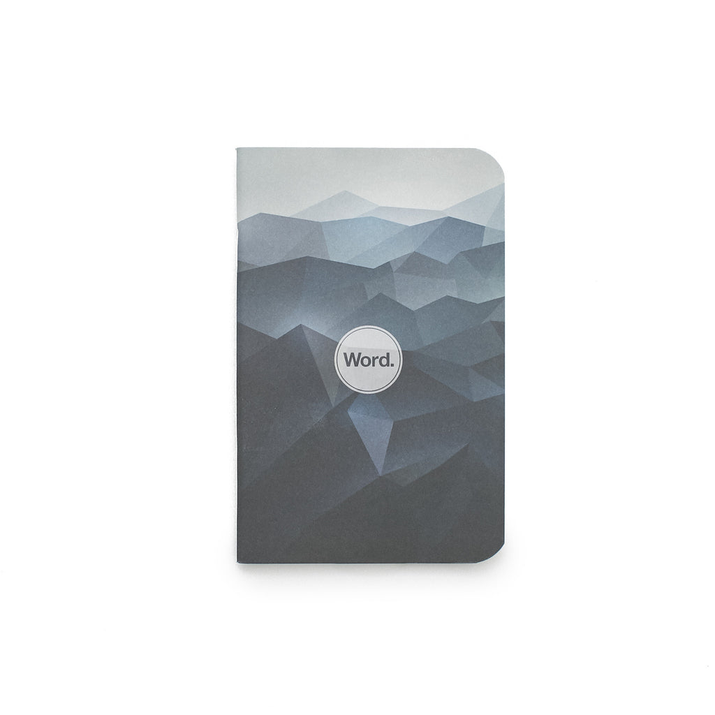 Word. Notebooks Blue Mountain 3 pack