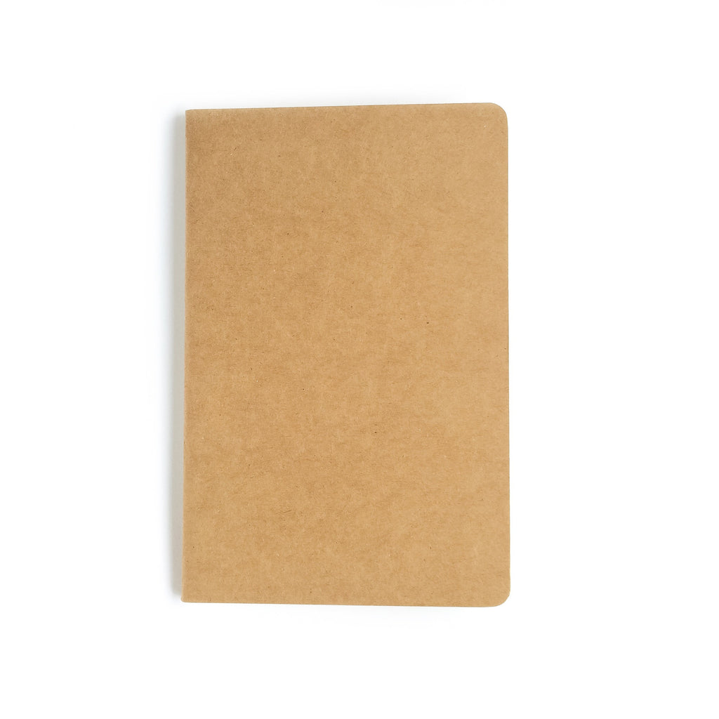 Frank Stationery A5 Kraft Notebook - Blank pages