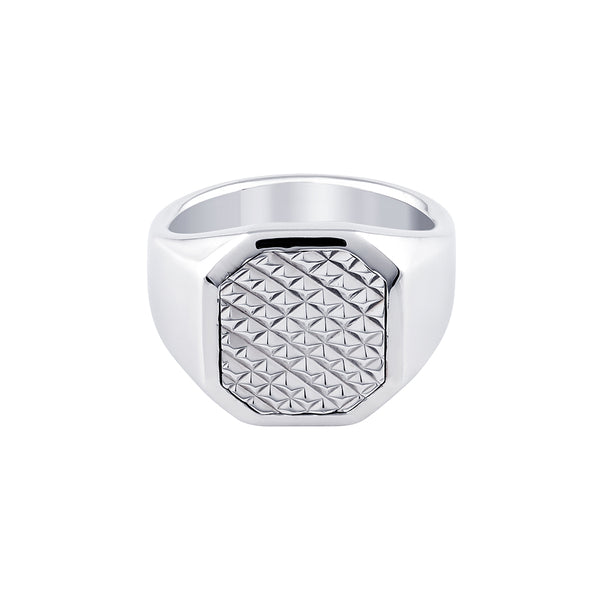 MEDINA SQUARE SIGNET RING