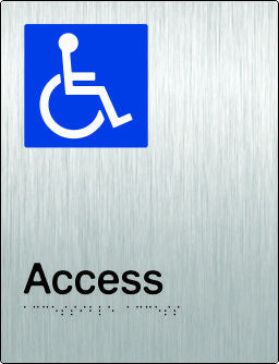 Accessible Access Braille and Tactile Sign (PB-SSAAccess)