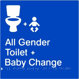 All Gender Toilet & Baby Change (PB-AGTABC)