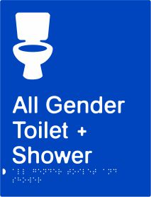 All Gender Toilet & Shower (PB-AGTAS)