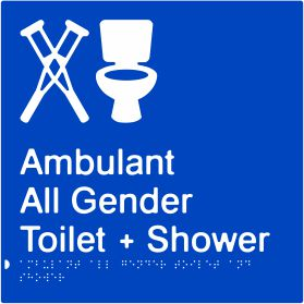Ambulant All Gender Toilet & Shower (PB-AmbAGTAS)