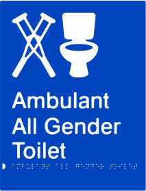 Ambulant All Gender Toilet (PB-AmbAGT)