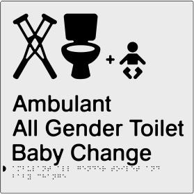 Ambulant All Gender Toilet & Shower (PBS-AmbAGTABC)
