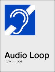 Audio Loop Braille & tactile sign (PBS-AL)