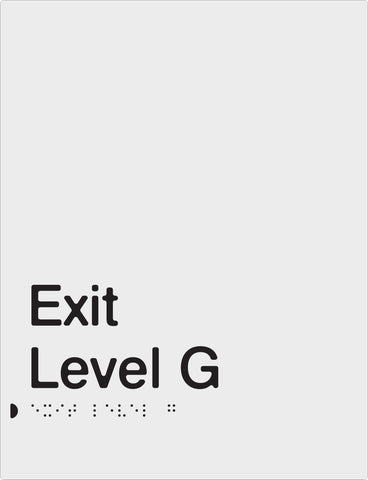 Anodised Aluminium Exits - Exit Level  (PB-SNAExit)