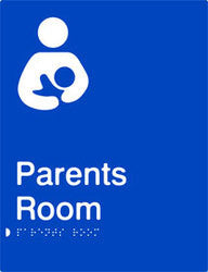 Parents Room Braille & tactile sign (PB-PR)