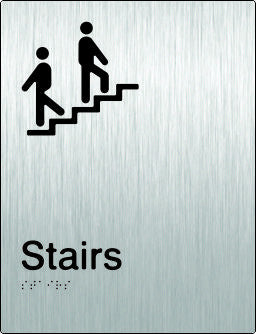 Stairs Braille & tactile sign (PB-SSSt)