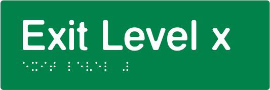 "PB-SlimExit - Green - ""Exit Level"""