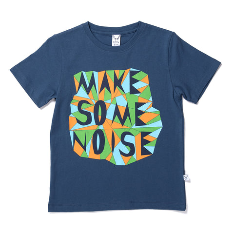 Make Some Noise Tee - Navy