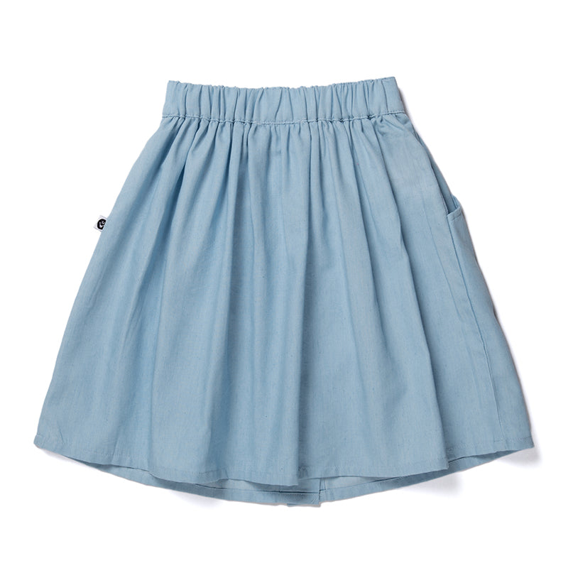 Blaire Skirt - Chambray