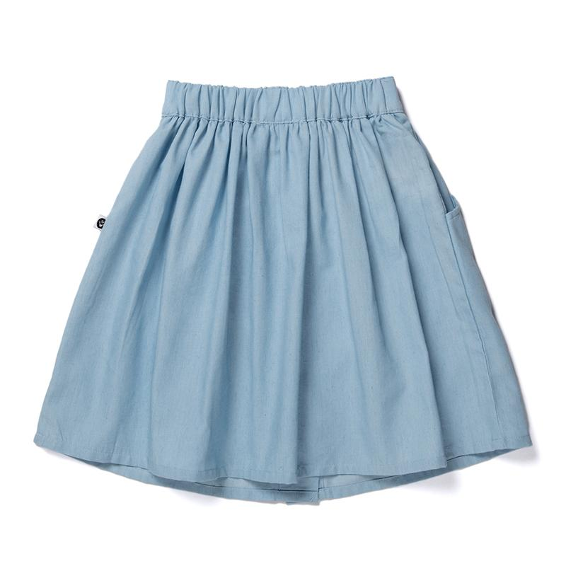 Littlehorn Blaire Skirt - Chambray