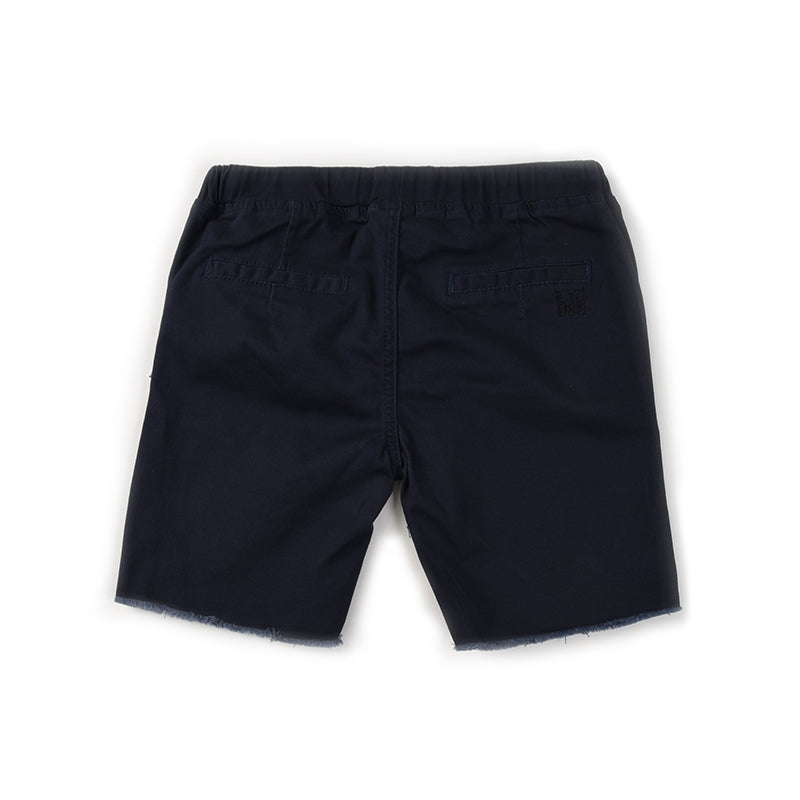 Mason Cut Off Chino - Navy