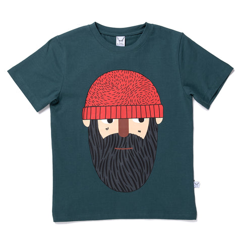 Lumberjack Tee - Dark Green