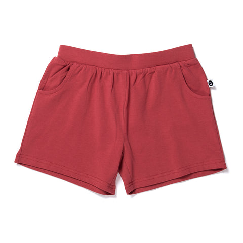 Lounge Short - Cherry