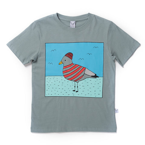 Skipper Gull Tee - Sea Green