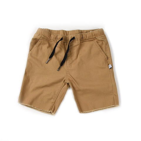 Mason Cut Off Chino - Tan