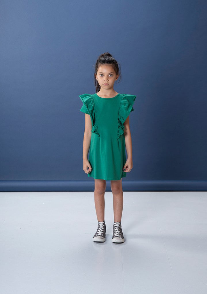 Littlehorn Coco Dress - Vivid Green