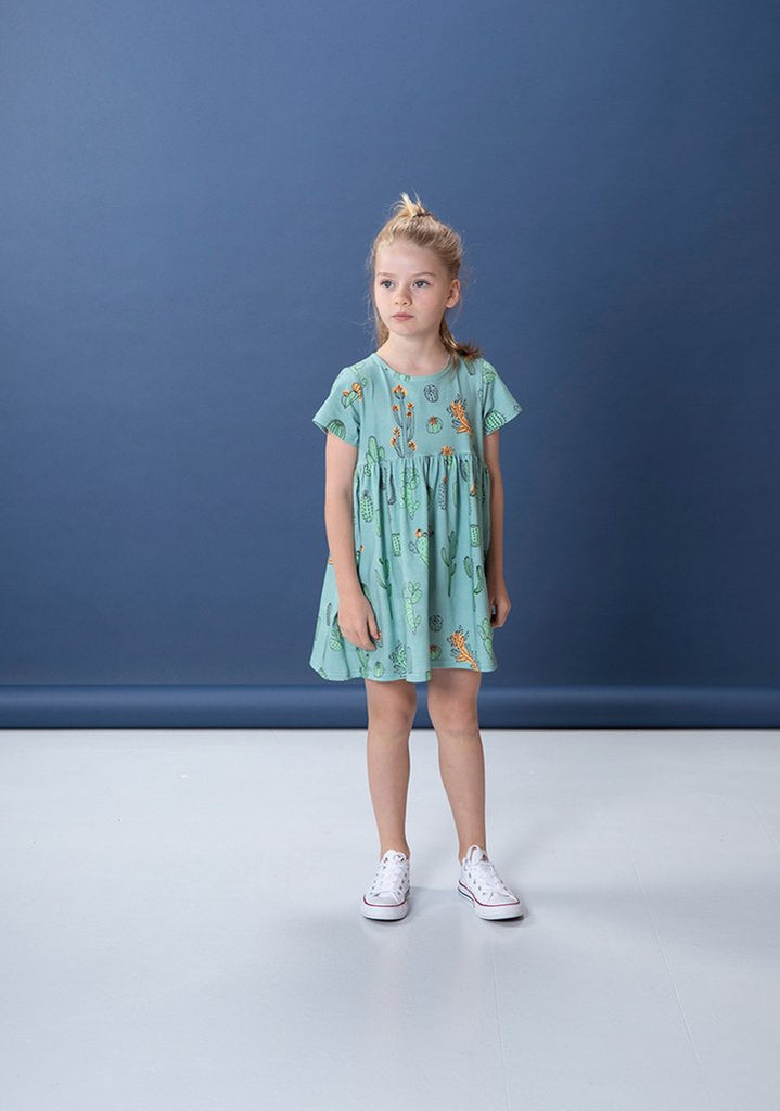 Littlehorn Cacti Dress - Sage