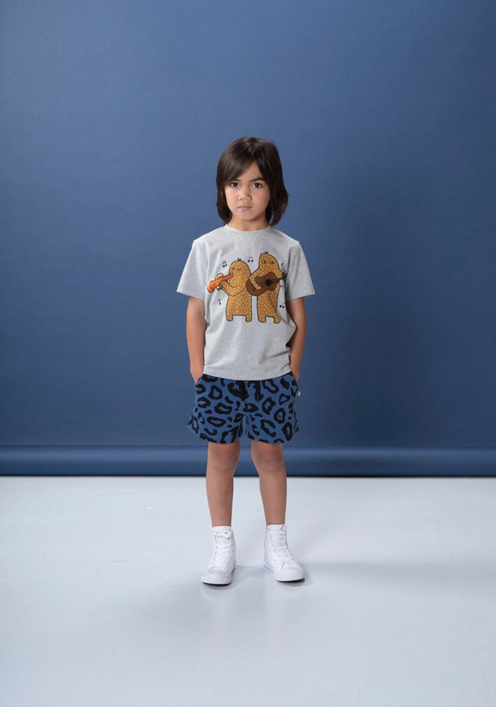 Littlehorn Musical Monsters Tee - Marle