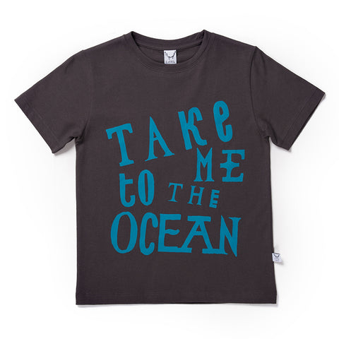 Take Me To The Ocean Tee - Oil