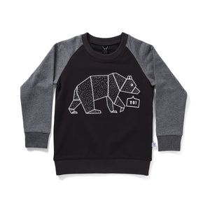 Stencil Bear Sweat