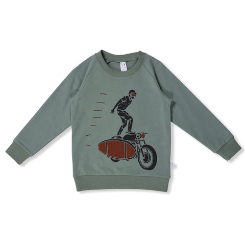 Stunt Biker Sweat