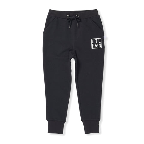 Branded Cuff Trackpants