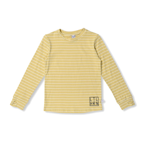 Striped Thumbhole Tee