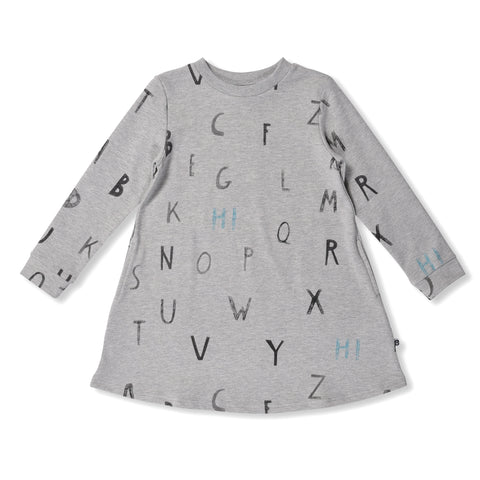 Alphabet Sweater Dress