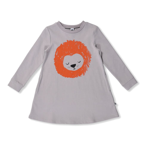 Sleepy Lion Sweater Dress