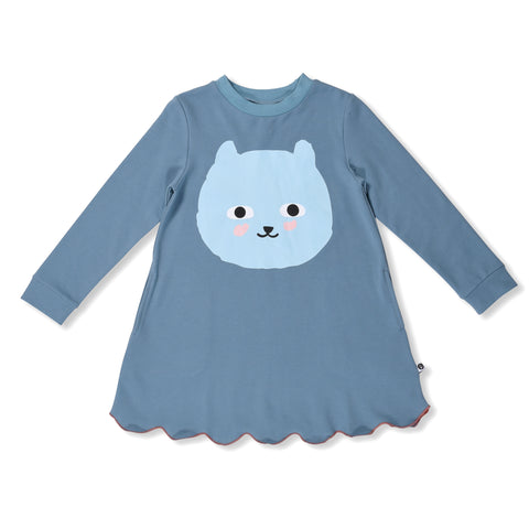 Happy Bear Sweater Dress
