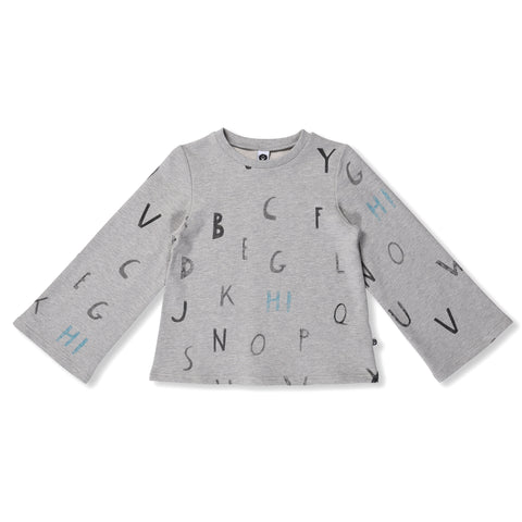Alphabet Belle Sweat