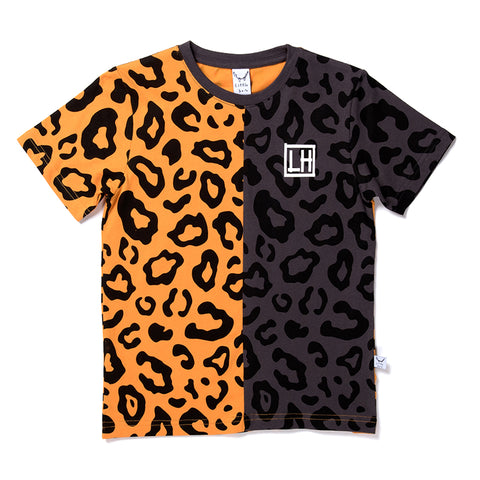 Safari Cut Tee - Light Orange/Oil