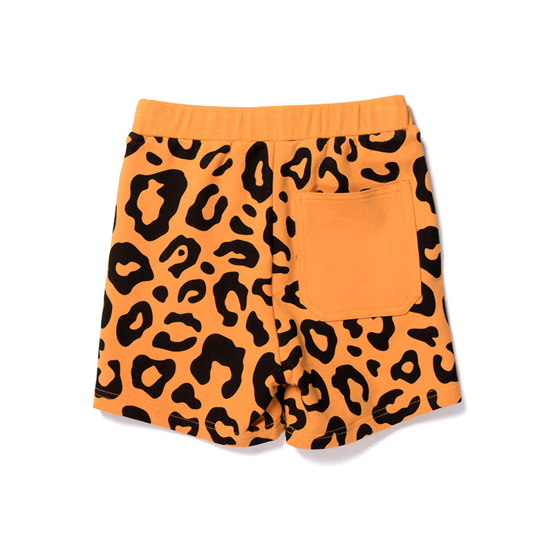 Safari Sweat Short - Light Orange