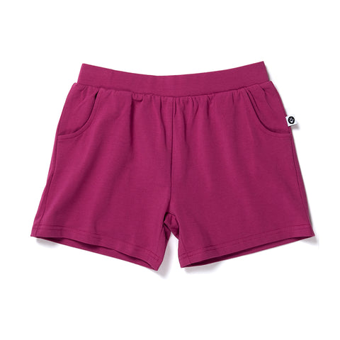 Lounge Short - Crimson