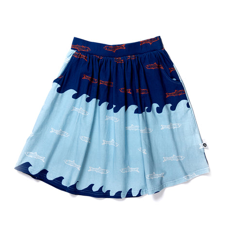 Aquarium Skirt - Blues