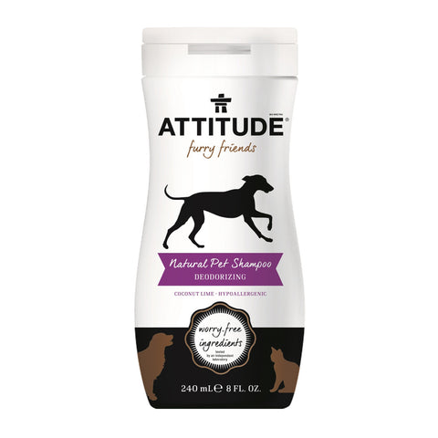 Attitude Natural Pet Shampoo 8 oz.