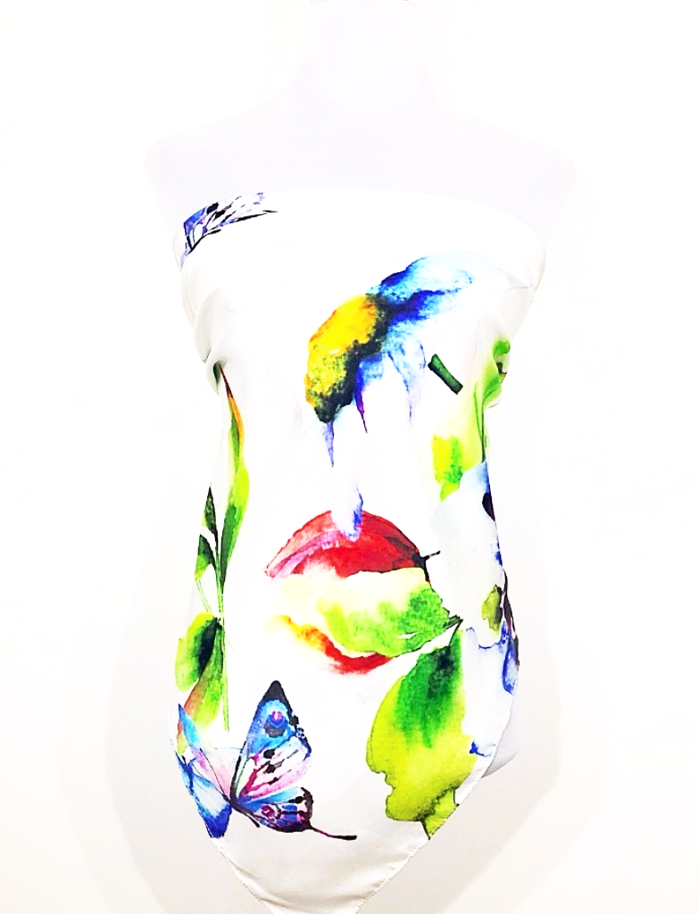 Butterfly attraction Silk Top