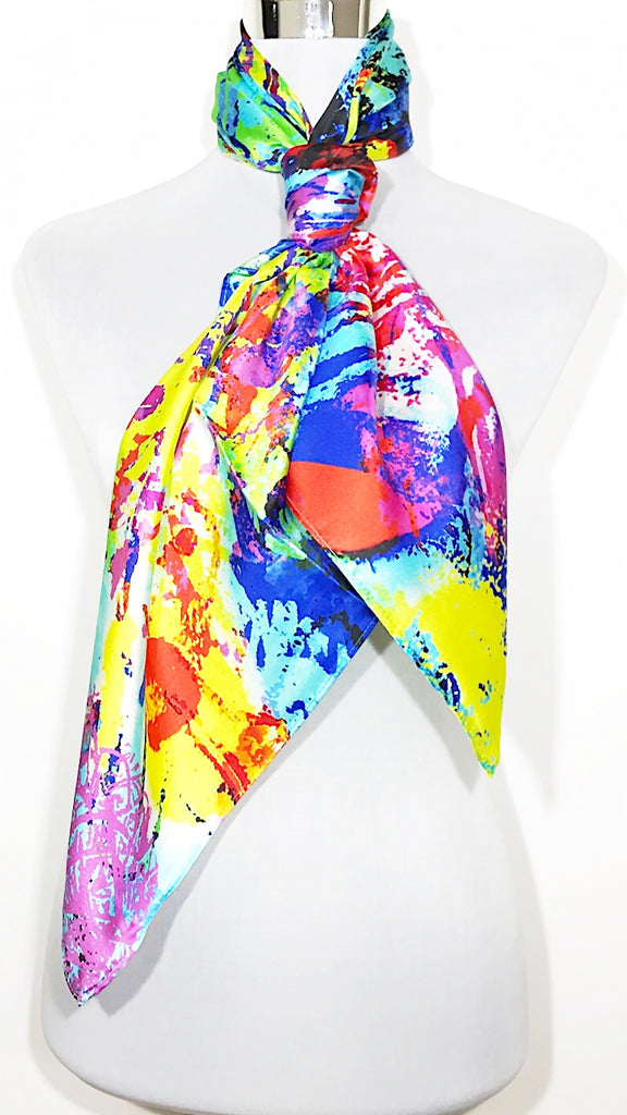Silk scarf, silk shawl, silk wrap