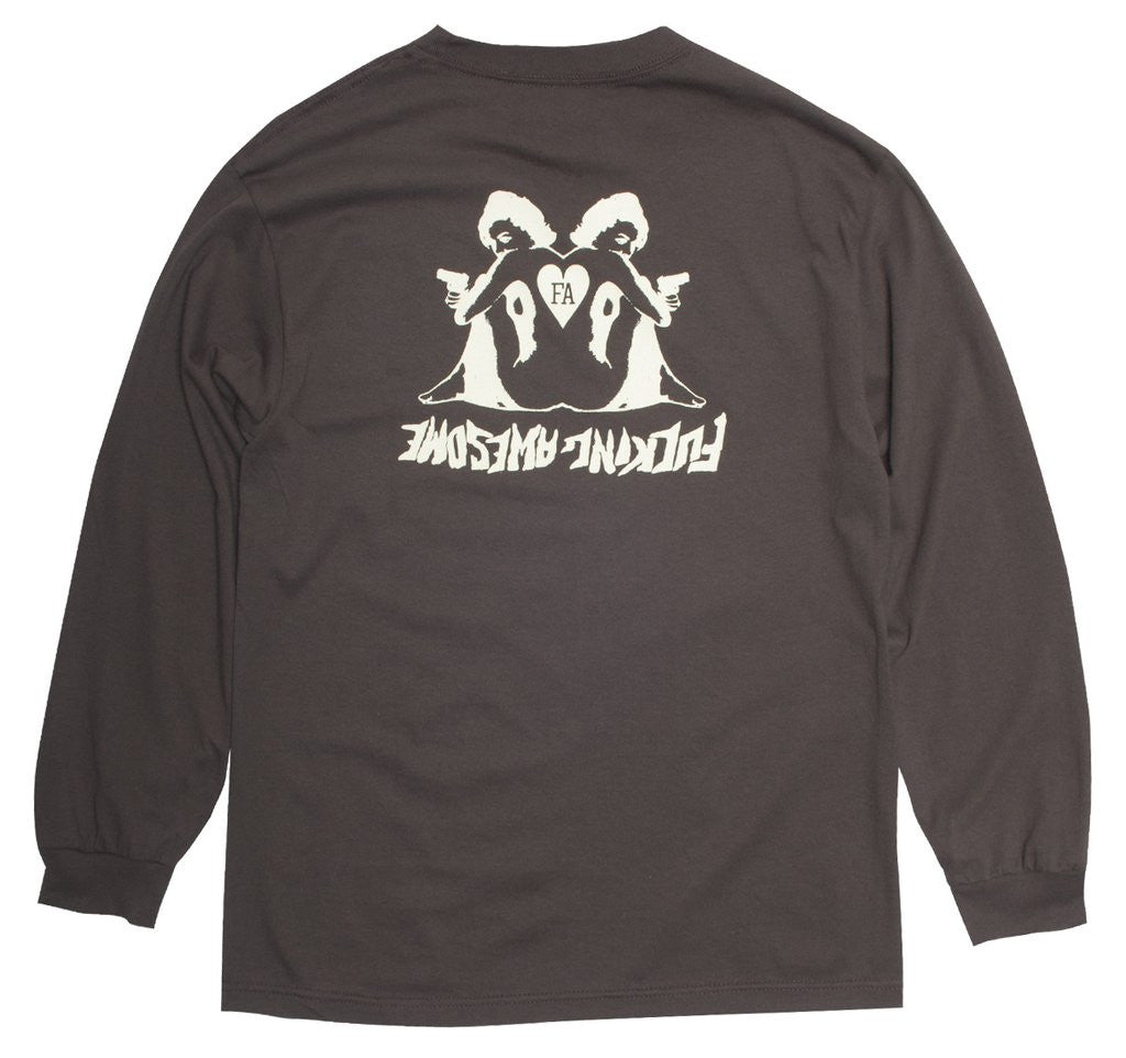 FUCKING AWESOME - HEARTS L/S T-SHIRT