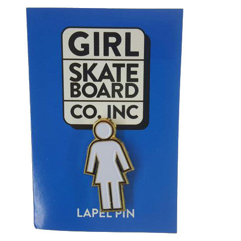 GIRL MISC OG ENAMEL PIN BLACK O/S