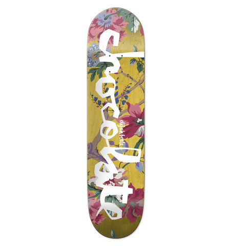 CHOCOLATE - BERLE FLORAL CHUNK DECK - 8.375