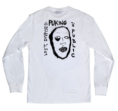 PUKING L/S T-SHIRT