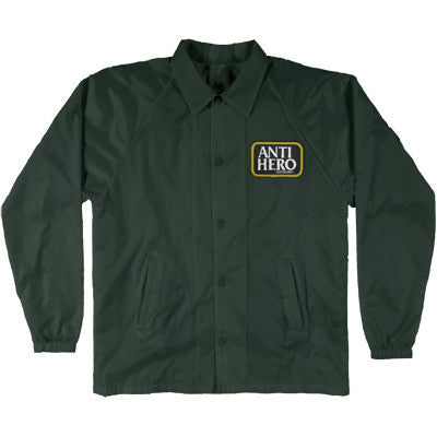 ANTI HERO - RESERVE PATCH COAHCES JACKET - GREEN