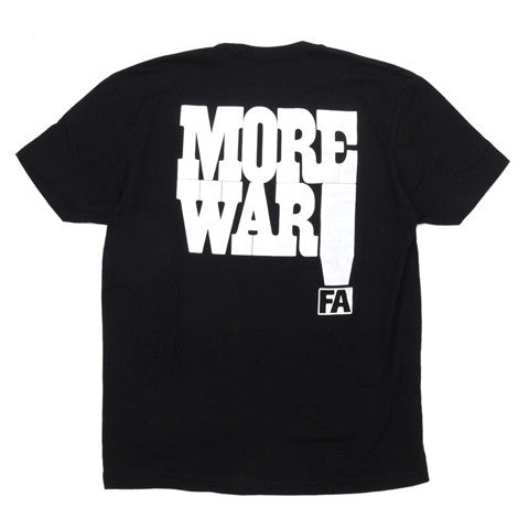 FA T-SHIRT MORE WAR - Menu Skateboard Shop - 1