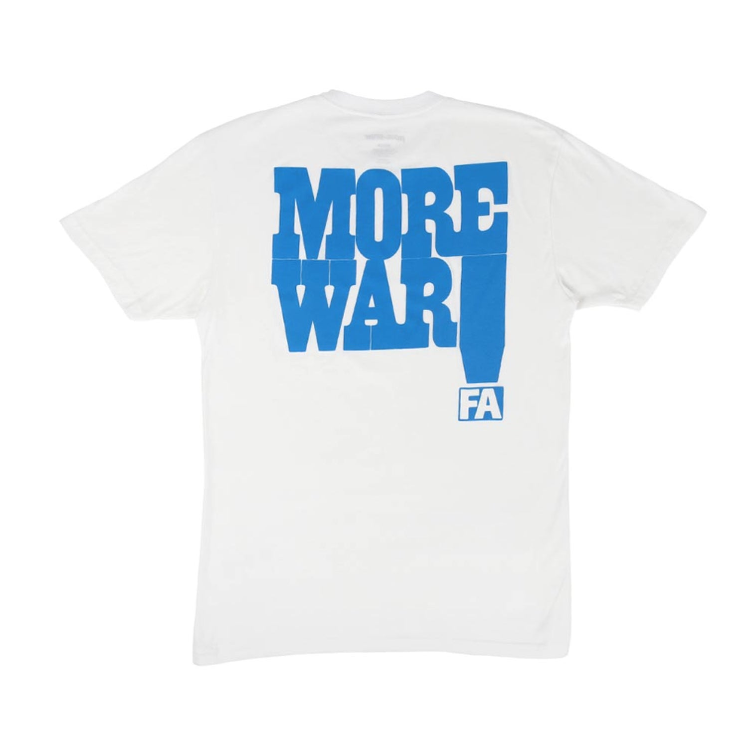 FA T-SHIRT MORE WAR - Menu Skateboard Shop - 2
