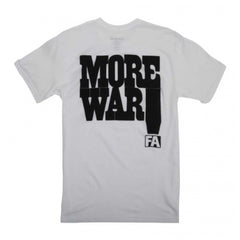 FA T-SHIRT MORE WAR - Menu Skateboard Shop - 4